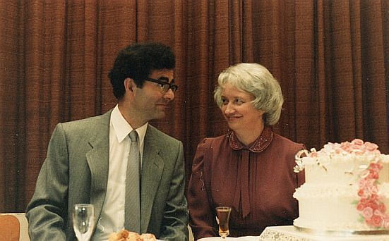 Silver Wedding Anniversary 1984